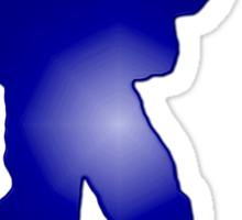 Duty First - Blue Sticker