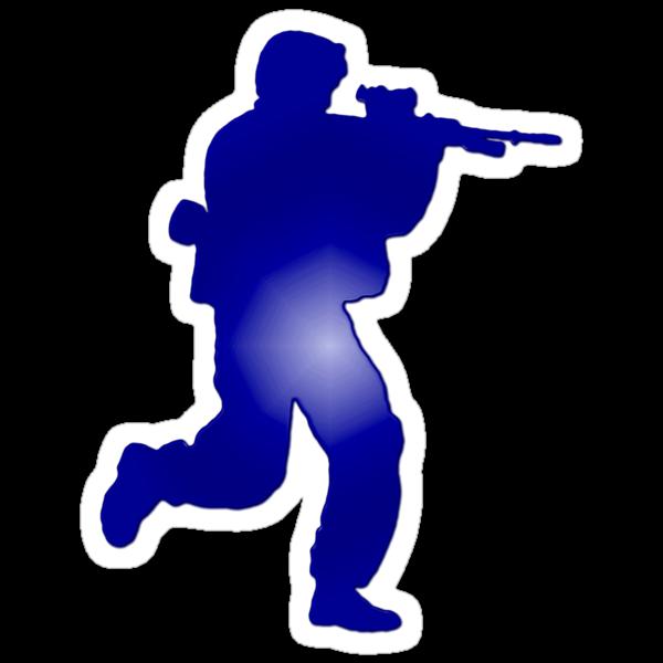 Duty First - Blue by docdoran