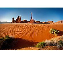 Totem Pole Sands Photographic Print