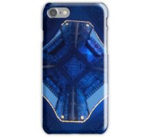 Eiffel Tower Blue lights iPhone Case/Skin
