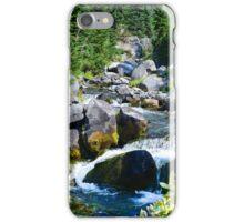 Mount Rainier - Skyline Trail - Paradise River Waterfall iPhone Case/Skin