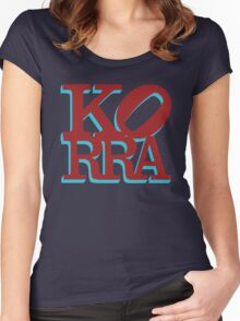 Love Korra Women's Fitted Scoop T-Shirt