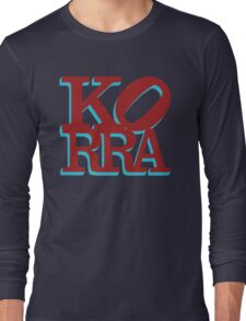 Love Korra Long Sleeve T-Shirt