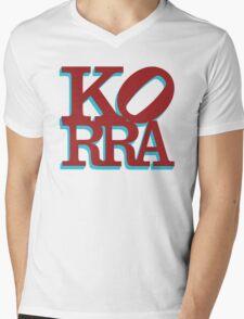 Love Korra Mens V-Neck T-Shirt