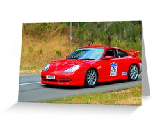 Porsche 911 GT3 - 2000 Greeting Card
