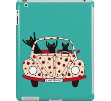 Driving Cats iPad Case/Skin