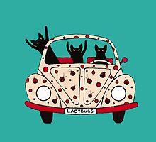 Driving Cats by Kicchetta95