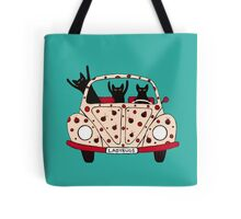 Driving Cats Tote Bag