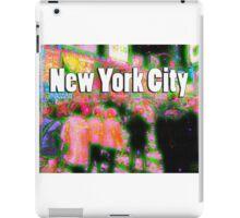 Times Square Crowd iPad Case/Skin