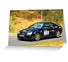 Mercedes Benz C63 MGS Estate - 2008 Greeting Card