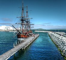 Endeavour in Albany harbour #2 by BigAndRed