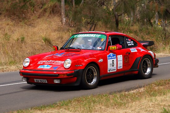 Porsche 911 Turbo - 1982 by Geoffrey Higges