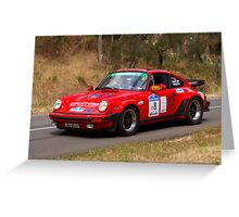 Porsche 911 Turbo - 1982 Greeting Card