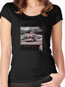 Here's Lookin At You Kid! Women's Fitted Scoop T-Shirt
