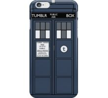 Tumblr Public Ask Box. iPhone Case/Skin