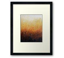 GLISTENING HARVEST   Framed Print
