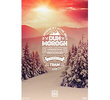 Dun Morogh - World of Warcraft ATLAS Staring Zone Tourism Travel Poster Series, Typography & Photography Photographic Print