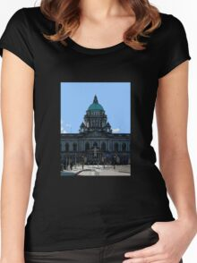Belfast City Hall Women's Fitted Scoop T-Shirt