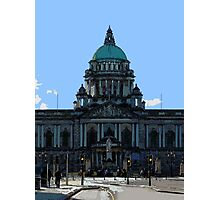 Belfast City Hall Photographic Print