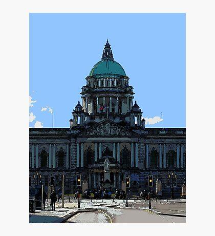 Belfast City Hall Photographic Print