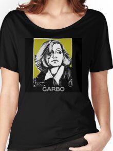 Greta Garbo 1920s Portrait  Women's Relaxed Fit T-Shirt