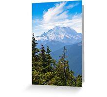 Mount Rainier - Paradise - National Park Greeting Card