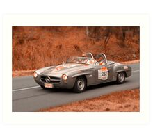 Mercedes Benz 190SL - 1959 Art Print