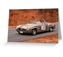 Mercedes Benz 190SL - 1959 Greeting Card