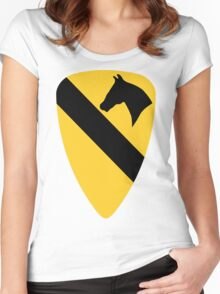 1st Cavalry Division Women's Fitted Scoop T-Shirt
