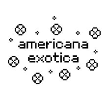 americana exotica (white) Photographic Print