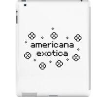 americana exotica (white) iPad Case/Skin