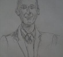 Looking sharp old man- Sketch by Steph Etheridge