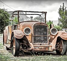 Rust and old yet beautiful by Melanie Conroy