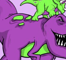 Stupendous! | Funny 90s Pop Culture Barney and Friends Dinosaur Sticker