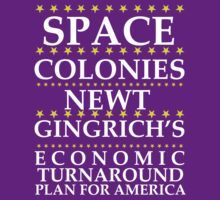 Newt Gingrich - Space Colonies by BNAC - The Artists Collective.