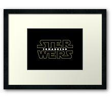 STER WERS - ERMAGHERD Framed Print