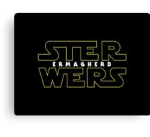 STER WERS - ERMAGHERD Canvas Print