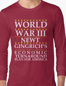 Newt Ginrich - World War III T-Shirt