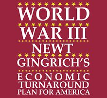 Newt Ginrich - World War III Long Sleeve T-Shirt