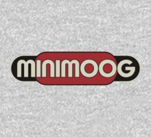 Vintage Minimoog Synth Baby Tee