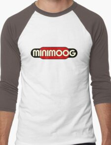 Vintage Minimoog Synth Men's Baseball ¾ T-Shirt