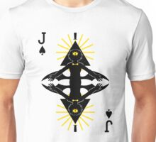 Cipher Jack of Spades Unisex T-Shirt