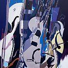 Duesenberg Guitar II (disassociation) by Franko Camue