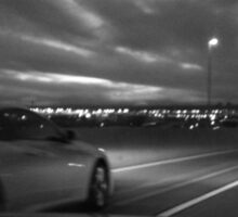 Drive at Night Sticker