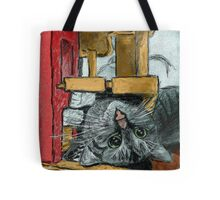 Daisy Playing Tote Bag