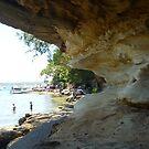Parsley Bay, Sydney, Australia by Angela Gannicott
