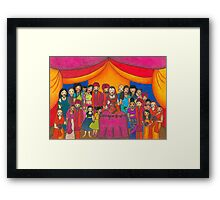 Indian Wedding Framed Print