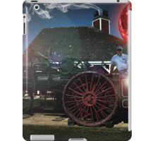 Redneck and his Purple Monkey with the Blood Moon iPad Case/Skin