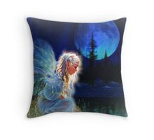 Contemplate Your Dreams Throw Pillow