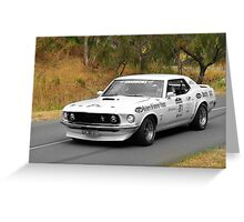 Ford Mustang Hardtop - 1969 Greeting Card